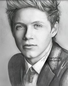drawing niall horan by harrything.deviantart.com on @deviantART ___________________________ Oh, wow!! so amazing <3