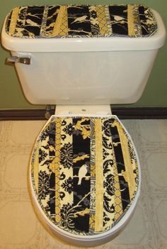 Quilting: Toilet Tank and Lid topper