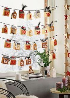 Die schönsten DIYs für Adventskalender / make your own advents calendar, diy via…