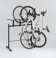Learning to ride a bike is no big deal. Learning the best ways to keep your bike from breaking down can be just as simple. Bicycle Storage, Bicycle Rack, Vertical Bike Stand, Standing Bike Rack, Indoor Bike Rack, Best Bike Rack, Range Velo, Bike Hanger, Bike Room