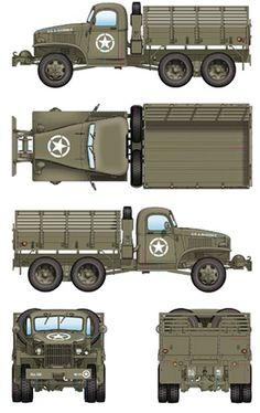 Army Usa, Us Army, Army Vehicles, Armored Vehicles, Engin, Military Equipment, Gmc Trucks, Vintage Trucks, Classic Trucks