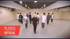 [Choreography Video] SEVENTEEN(세븐틴) - Crazy in Love -- I watched this on tv and my older sis was so amazed with their synchronized dance XD She tried dancing and she ended up looking like a zombie exercising XD I got blind by Jihoon's rudeness with his muscle tee TT^TT
