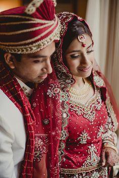 Desi Wedding, Red & Gold Wedding  www.significanteventsoftexas.com