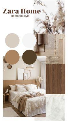 Zara Home Bedroom, Room Ideas Bedroom, Home Decor Bedroom, Minimalist Home Decor, Home Interior Design, Zara Home Design, Home And Deco, Bedroom Styles, Room Inspiration