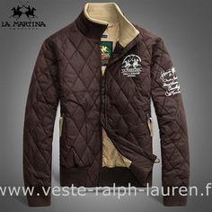 65e7450575a080 Polo officiel - doudoune hommes Ralph Lauren exquise nouvelle promotion  entreprise brun Polo Ralph Lauren Doudoune