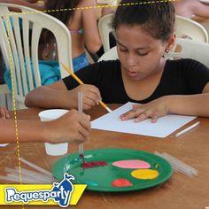 Disfruta con nosotros cada momento especial y divertido con tu #peque . . . . . #pequesparty  #fiesta #diversion #alegria #fiesta #maracaibo #venezuela #colores #pintar #colorear