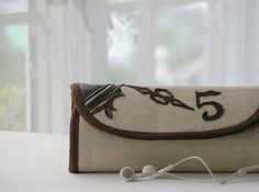 WANT!!!     ~     Keeper of time  phone wallet  deluxe edition  by MrAndMrsWallet, $79.00