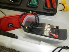 Fishing Kayak Batteries and Electronics
