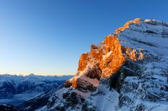 Panorama from Gemmipass by Marcel Frei, via 500px