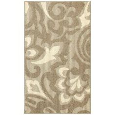 Forte Taupe Ivory 2 ft. x 3 ft. 4 in. Accent Rug