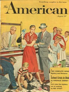 The American, August 1956.