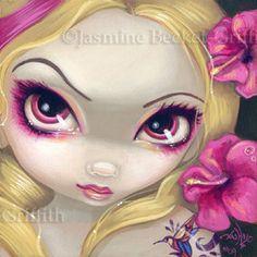 jasmine becket-griffith tattoo