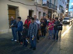 Ensayo solidario de la Hermanad Cristo de los Gitamos, marzo 2014