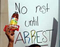 No rest until ARREST!