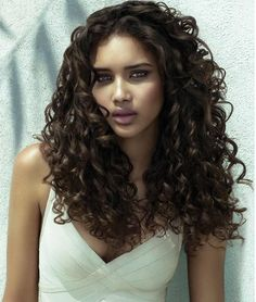 love it!!!! dark borwn scrunched big curls