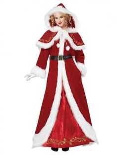Mrs. Claus Deluxe Adult Costume | California Costumes