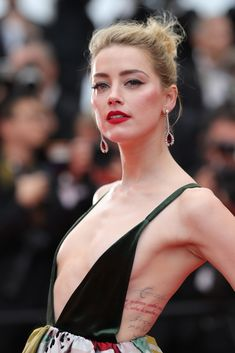 Amber Heard Photos Photos: 'Sorry Angel (Plaire, Aimer Et Courir Vite)' Red Carpet Arrivals - The Annual Cannes Film Festival Amber Heard Hot, Amber Heard Style, Amber Heard Tattoo, Anber Heard, Actrices Sexy, Palais Des Festivals, Most Beautiful Faces, Beautiful People, Cannes Film Festival