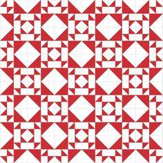Penny Rose Fabrics Blog: Traditional Block Thursday: Crosses & Losses