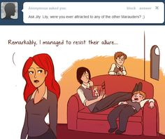 The Relationship Goals Are Real with Jily: James and Lily Potter | Harry Potter Blog