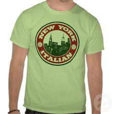 New York Italian American T-shirts