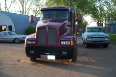 After Photo: Kenworth T-600 ready for the road again.