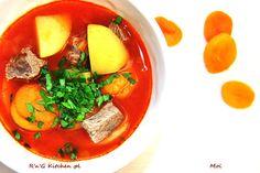 R'n'G Kitchen: Jajni (ormiańska zupa z wołowiną)