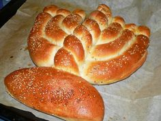 Menorah Challah - I could totally do this!!!!