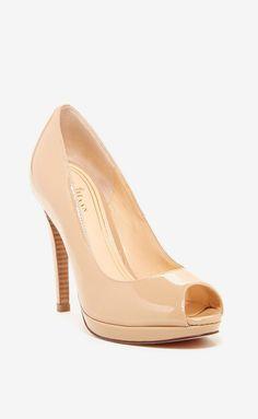 Chelsea Peep Toe High Pump