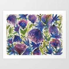 Wild Flowers by Elenor D.G., $17.68. https://society6.com/product/wild-flowers-zxw_print?curator=bestreeartdesigns