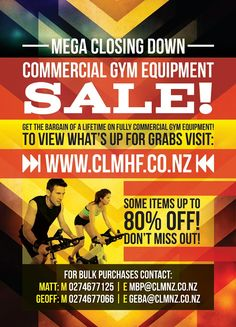 Fitness equipment sale! #treadmill #workoutathome #spinbike #gymequipment #sale