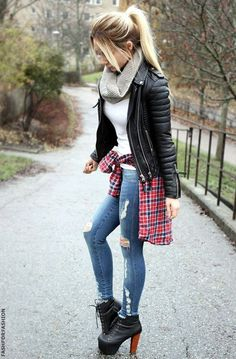 awesome Cute Casual Chic Outfits, March 2016 - Latest Fashion Trends by http://www.dezdemonfashiontrends.top/latest-fashion-trends/cute-casual-chic-outfits-march-2016-latest-fashion-trends-3/