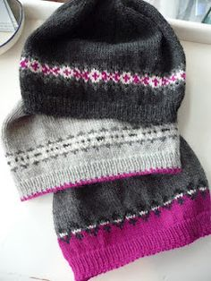 Fair Isle Fun with beanies :)