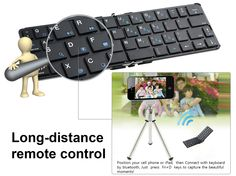 """The Flyshark keyboard is not a normal, but a self artifact to capture wonderful times in your life. D key is the camera shutter, press """"fn + D KEY"""", record happy forever!"""
