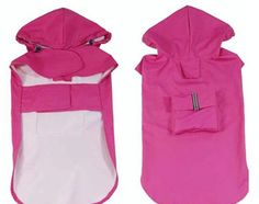 Dofull Big dog raincoat poncho pet appliance Pet Dog clothes MAGENTA ** You can get additional details at the image link. (This is an affiliate link and I receive a commission for the sales) Baby Raincoat, Yellow Raincoat, Nike Jacket, Rain Jacket, Running In The Rain, Dog Coats, Rain Coats, Puppy Clothes, Raincoats For Women