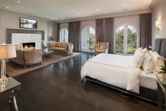Lovely SEE THIS HOUSE   $31 MILLION DOLLAR SANTA MONICA MANSION BARGAIN. Mansion  BedroomMansion InteriorDream Master ...