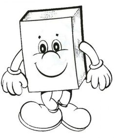 Books are our friend Colouring Pages, Printable Coloring Pages, Coloring Books, Painting For Kids, Drawing For Kids, Felt Books, Book Markers, Book People, Color Crafts