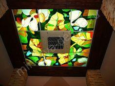 Витраж для потолка, мастерская Ольги Минаевой, Россия, +79184110608, minaevadesign@mail.ru