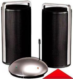 Wireless Funklautsprecher Funkboxen AKTIV Boxen Stereo Drahtlose Lautsprecher