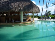 I have not met a swim up bar I have not liked :) Now Larimar in Punta Cana