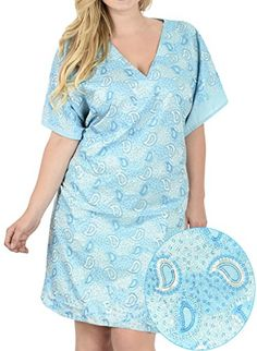 bdb2804eb62e7 La Leela Rayon Solid Plain Womens Beach Night Sleep Maternity Cover up Dress  Casual Hawaiian 2017 Swimwear Blue Fathers Day Gifts Spring Summer 2017
