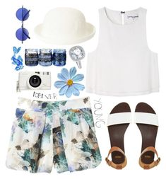 """""""1463. Forever Young"""" by chocolatepumma ❤ liked on Polyvore featuring moda, Topshop, Rebecca Taylor, Apiece Apart, JudeFrances, ASOS, Lomography y Retrò"""