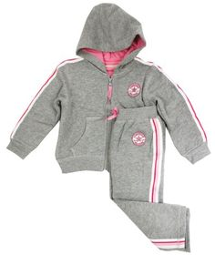 8689c04513c Converse Baby Girl Chuck Patch Tracksuit - £29.99 3 - 24 mths Converse  Tracksuit