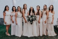 Mini Wedding com Todos de Branco