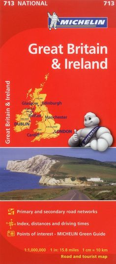 Great Britain/Ireland Map