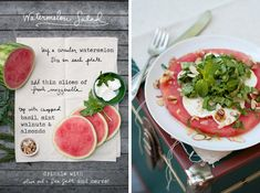 The Forest Feast: Watermelon Salad