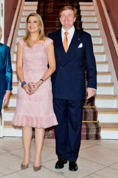 HM King Willem-Alexander and HM Queen Maxima on their 2nd day of their visit to Germany in Munster on 26.05.2014