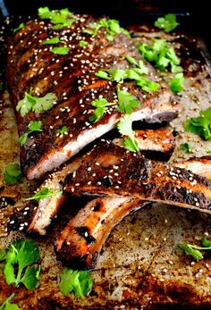 Roasted Jasmine Tea Rub Ribs by http://thewoksoflife.com #dryrub #ribs #jasminetea #roasted #chinese #ribs