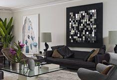 deko wandspiegel wohnzimmer modernes wohnzimmer spiegel optische ...