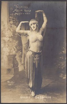 Rare Danses Orientales - Yasmina - Moulin Rouge Music Hall