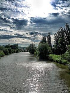 Nitra river, Slovakia